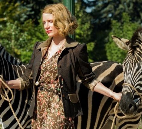 Boekverfilming - The Zookeeper's Wife
