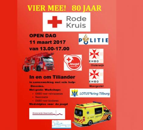 Rode Kruis 80 jaar: Open Dag
