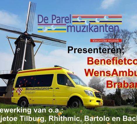 De Parelmuzikanten presenteren Benefietconcert WensAmbulance Brabant