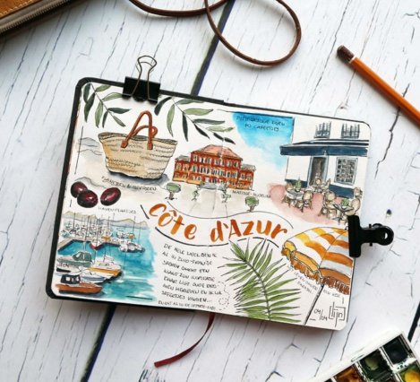 Workshop: Travel Sketchbook